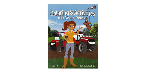 Coloring & Activities with Casey & friends