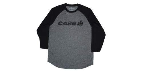 T-Shirt Case IH black and gray